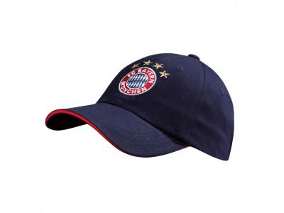 FC Bayern Munchen kasket - FCB cap Logo navy Kids - børn