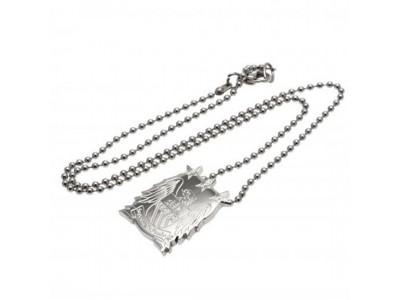 Manchester City smykke - Stainless Steel Pendant & Chain EC LG
