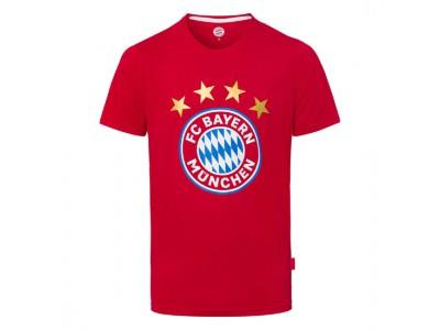 FC Bayern Munchen tshirt - T-Shirt Logo Red