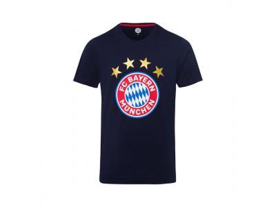 FC Bayern Munchen tshirt - T-Shirt Logo Navy