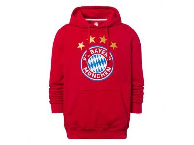 FC Bayern Munchen hættetrøje - Hoodie Logo red