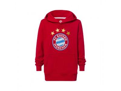 FC Bayern Munchen hættetrøje - Hoodie Logo Kids - børn