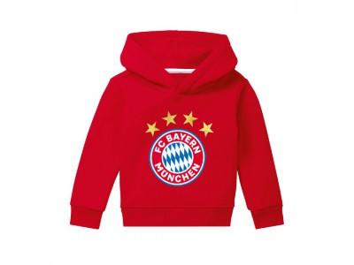 FC Bayern Munchen hættetrøje - Hoodie Logo red infants - små børn