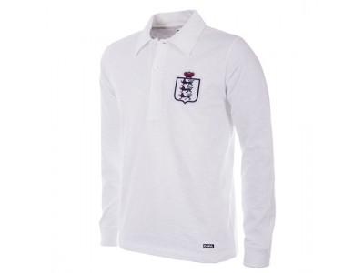 England 1930-35 retro fodbold trøje Lange Ærmer