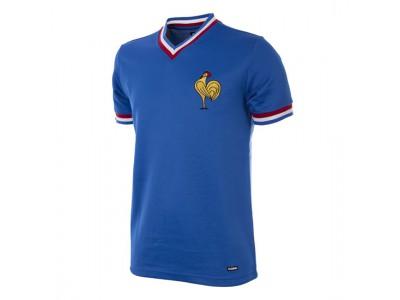 Frankrig 1971 retro fodboldtrøje