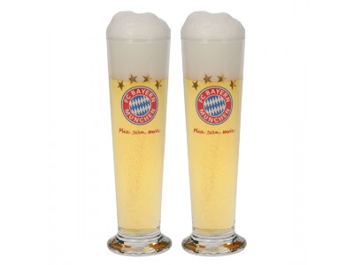 FC Bayern Munchen glas - FCB Pils Glass (Set of 2)