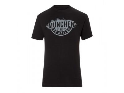 FC Bayern Munchen T-Shirt Munich Black - sort