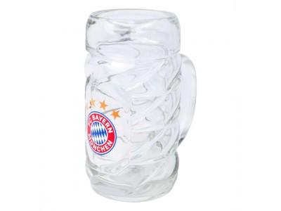 FC Bayern Munchen øl krus - FCB beer mug 1/2 litre