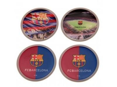 FC Barcelona klistermærker - 3D Stickers 4 Pack