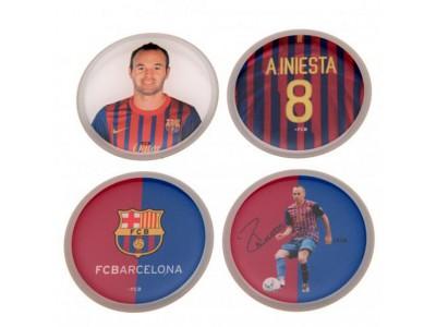 FC Barcelona 3D Stickers 4pk Iniesta