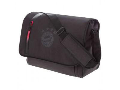 FC Bayern Munchen taske - FCB Messenger Bag anthracite