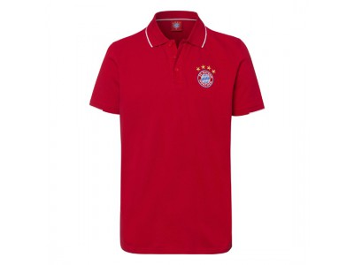 FC Bayern Munchen polo trøje - Polo Classic Red