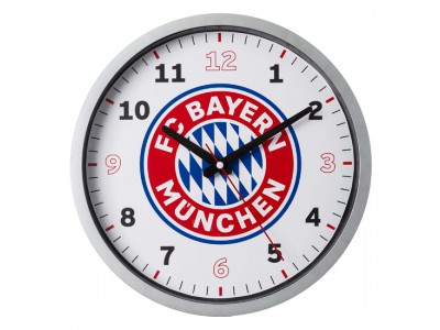 FC Bayern Munchen væg ur - Wall Clock Logo