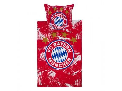 FC Bayern Munchen sengetøj - Bedding red/white Beaver