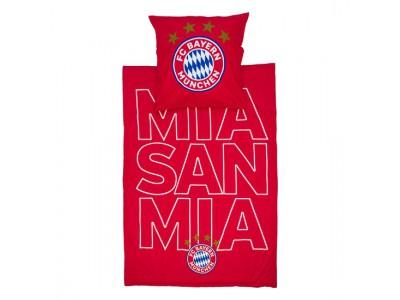 """FC Bayern Munchen sengetøj - Bedding Glow """"mia san mia"""""""