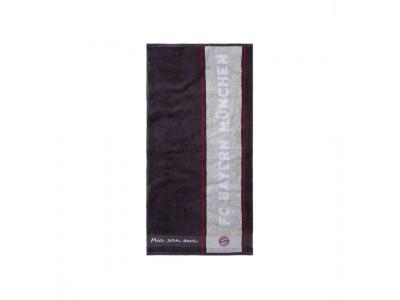 FC Bayern Munchen håndklæde - Towel anthracite