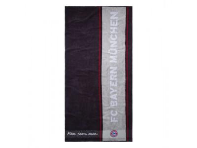FC Bayern Munchen Bath Towel anthracite