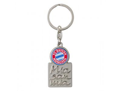 FC Bayern Munchen nøglering - FCB Keyring Mia San Mia