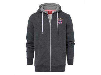 FC Bayern Munchen jakke - Hooded Jacket Classic Anthracite