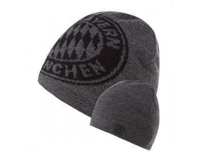 FC Bayern Munchen hue - Reversible Beanie Big Logo anthracite