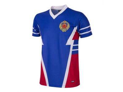 Jugoslavien 1990 retro fodboldtrøje