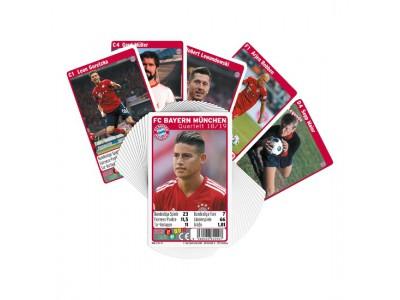 FC Bayern Munchen kort Quartett Team 2018/19