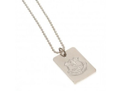 Everton hundeskilt - Silver Plated Dog Tag