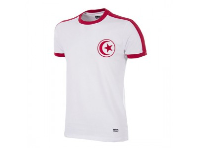 Tunesien 1970erne retro fodboldtrøje