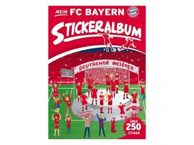 FC Bayern Munchen klistermærke album - Sticker Album Set