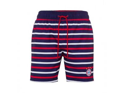 FC Bayern Munchen badebusker - Children's Swimming Shorts Striped - børn