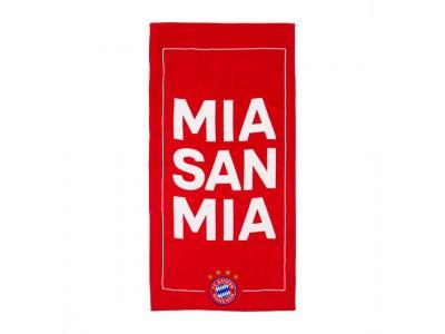 FC Bayern Munchen håndklæde - Beach Towel Mia San Mia