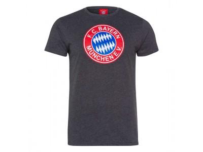 FC Bayern Munchen tshirt - T-Shirt Retro grey - voksen