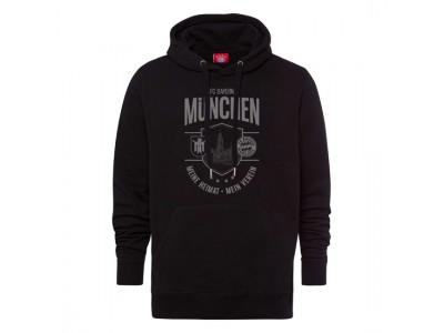 Fc Bayern Munchen hættetrøje - Hoodie Meine Heimat Mein Verein