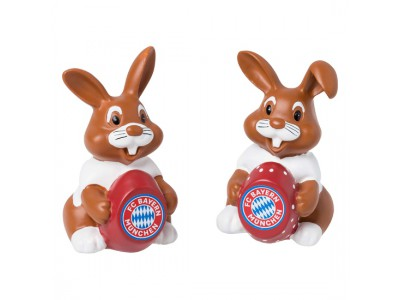 FC Bayern Munchen påskehare - Easter Bunny (Set Of 2)