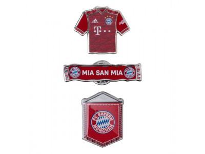 FC Bayern Munchen nåle sæt - Pin Set of 3