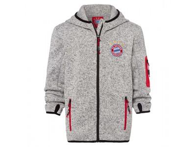 FC Bayern Munchen jakke - Knitted Fleece Jacket - børn