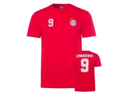 FC Bayern Munchen T-Shirt Lewandowski