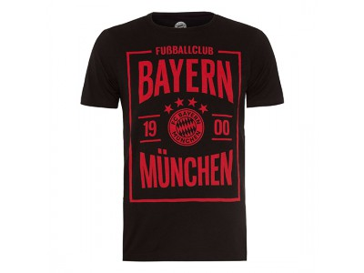 FC Bayern Munchen T-Shirt FCB Foundation 1900