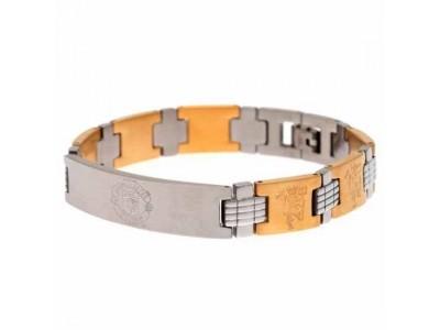 Manchester United armbånd - MUFC Bi Colour Bracelet