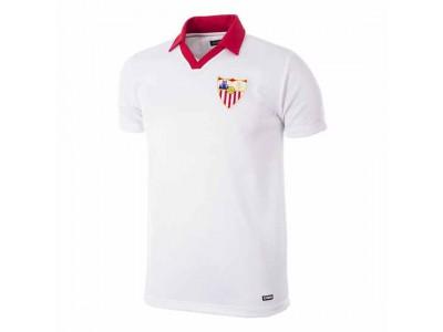 Sevilla FC fodboldtrøje - 1980 - 81 Retro Football Shirt