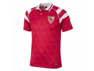Sevilla FC trøje ude - 1992 - 93 Away Retro Football Shirt