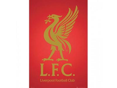 Liverpool FC plakat - Poster Crest 43