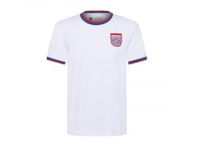 FC Bayern Munchen T-Shirt - retro hvid