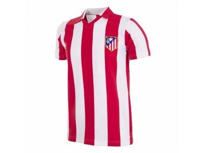 Atletico Madrid 1985-86 Retro Trøje - fra Copa