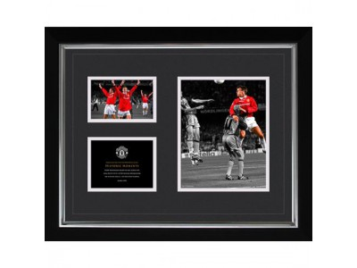 Manchester United billede - Historic Moments Picture Sheringham 16x20
