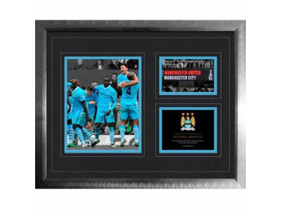 Manchester City billede - Historic Moments Picture 6-1 Derby 16x20