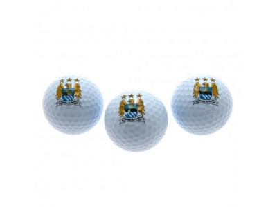 Manchester City golf bolde - Golf Balls EC