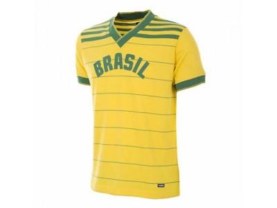 Brasilien 1984 Retro Fodboldtrøje