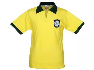 Brasilien retrotrøje - VM 1958
