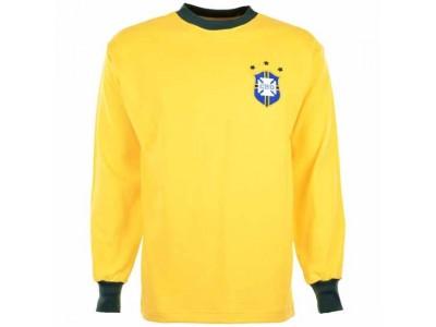 Brasilien 1972 3 x Champs Retro T-Shirt
